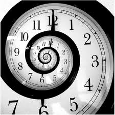 Infinite Spiral Clock