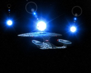 Star Trek Enterprise space craft