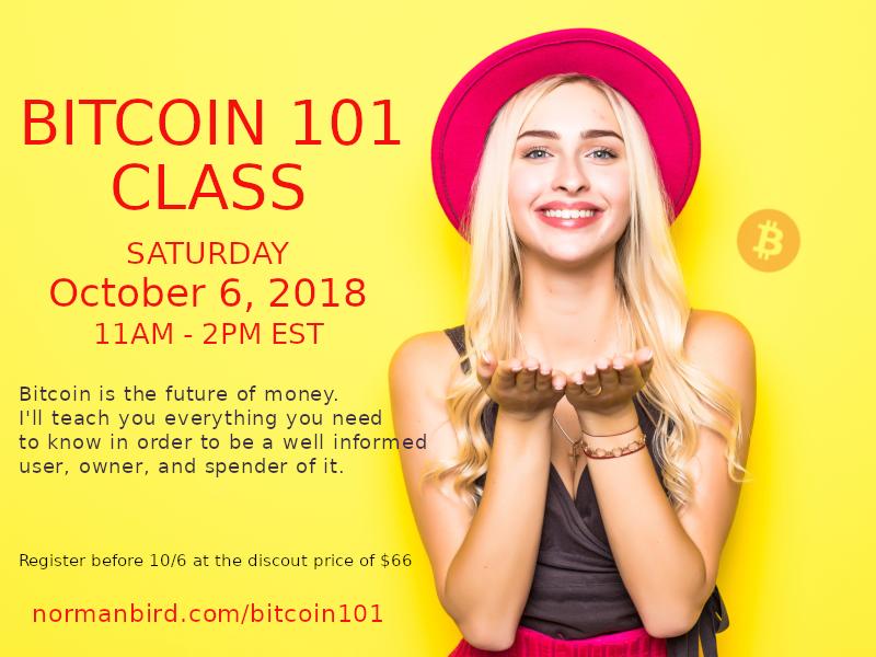 bitcoin-101 Class
