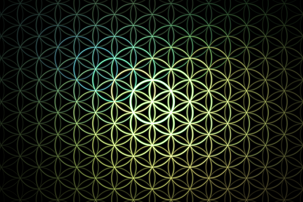 The Flower Of Life symbol
