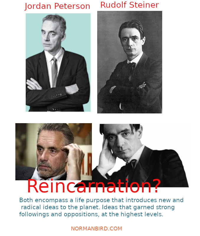 Jordan Peterson is Rudolf Steiner